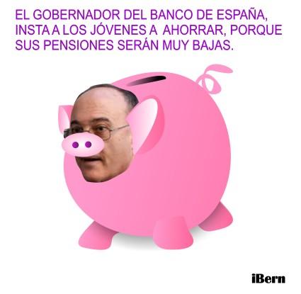 gobernador banco de España