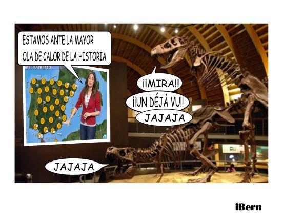 DINOSAURIOS OLA DE CALOR