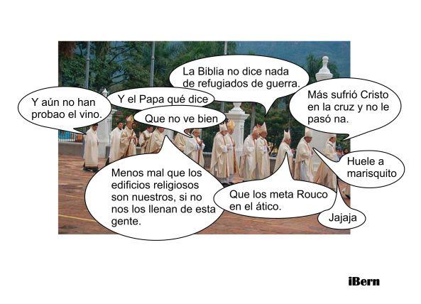 iglesia refugiados