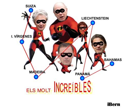 LOS INCREIBLES
