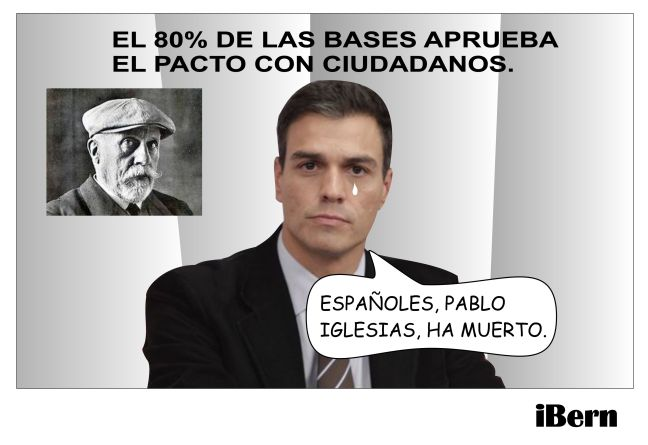 PABLO IGLESIAS HA MUERTO