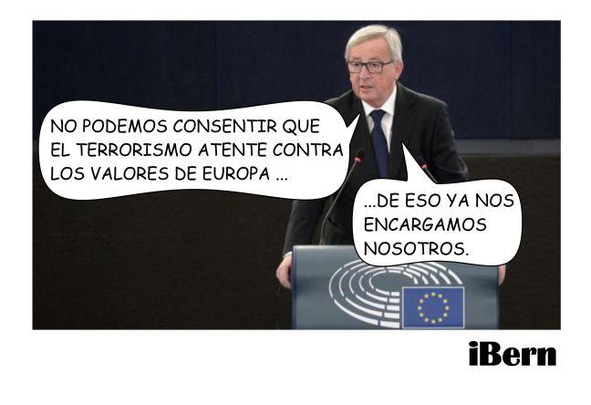 LOS VALORES DE EUROPA