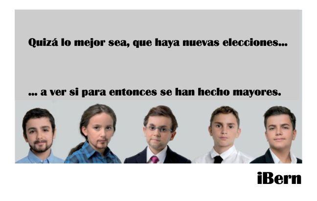 niños políticos