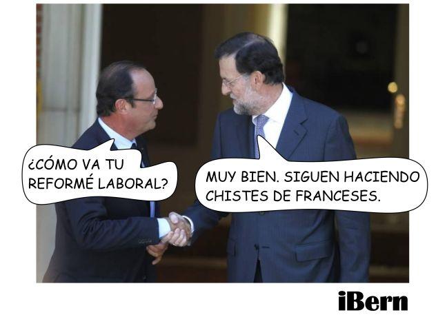 CHISTES DE FRANCESES