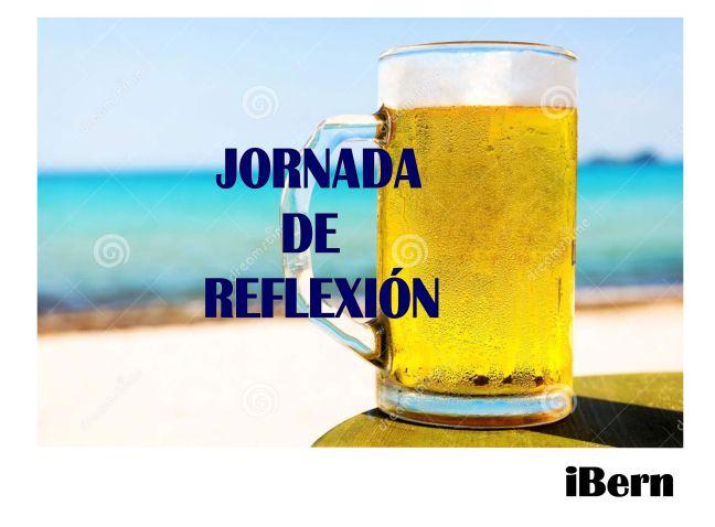 JORNADA DE REFLEXION CERVEZA