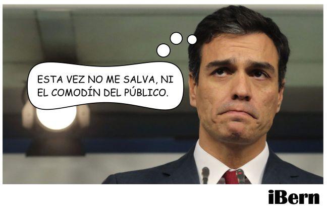 NI EL COMODÍN DEL PÚBLICO.