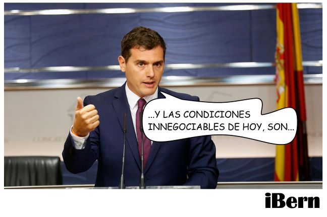 ALBERT RIVERA CONDICIONES