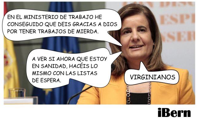 FATIMA BAÑEZ LISTAS DE ESPERA