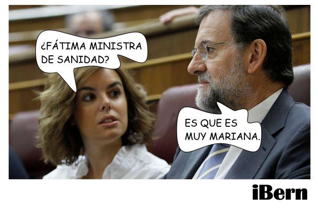 FATIMA MINISTRA MARIANA