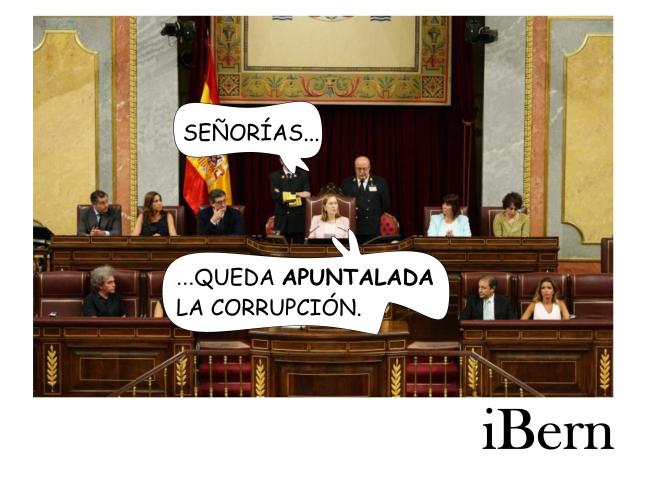 APUNTALADA LA CORRUPCIÓN