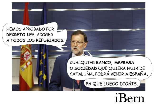 RAJOY DECRETO REFUGIADOS