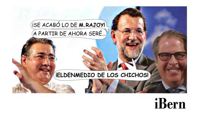 RAJOY EL DEL MEDIO