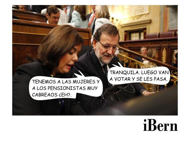 RAJOY PENSIONISTAS CABREAOS