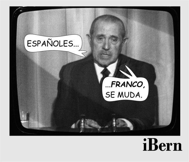 FRANCO SE MUDA