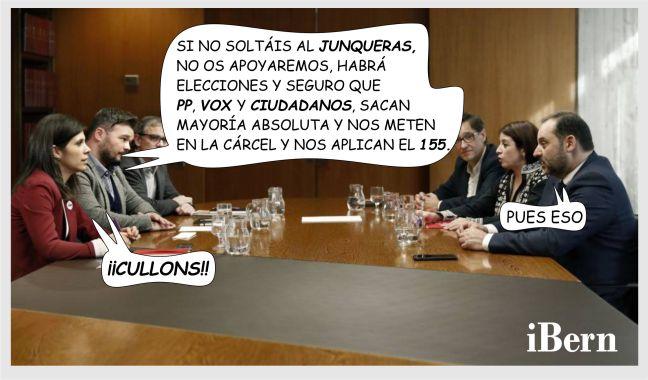 NEGOCIACION PSOE ERC