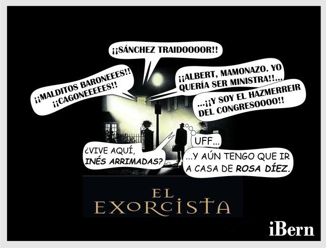 ARRIMADAS EXORCISTA